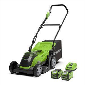 tondeuse gazon greenworks G40LM35K2X