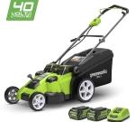 Présenter le modèle Greenworks 2500207UC